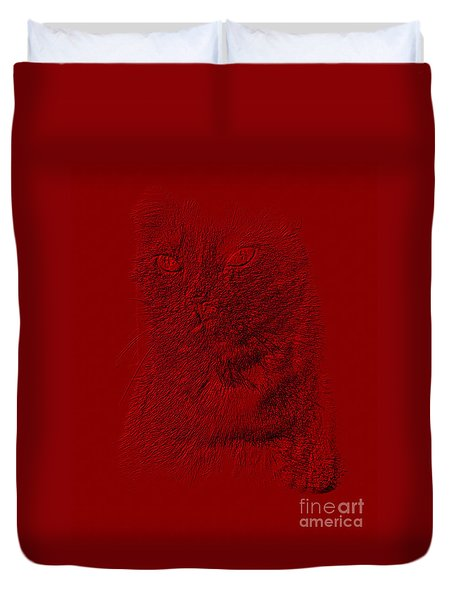 Red Cat Collection. Special... Duvet Cover