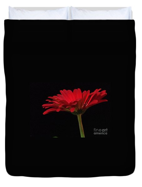 Red Daisy 2 Duvet Cover