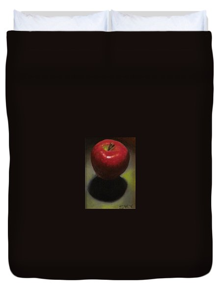 Red Delicious Duvet Cover by Blue Sky
