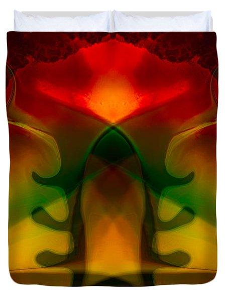 Red-eyes Black Dragon Duvet Cover by Omaste Witkowski