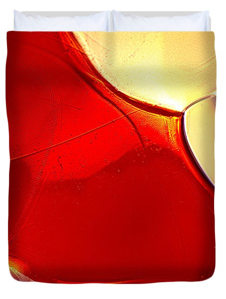 Red Fish Duvet Cover by Omaste Witkowski