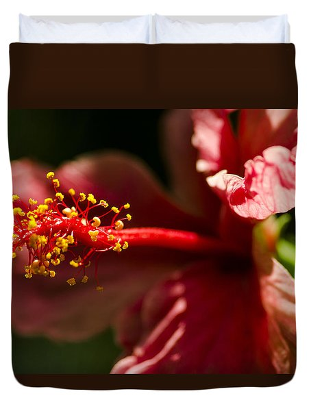 Red Flower Duvet Cover