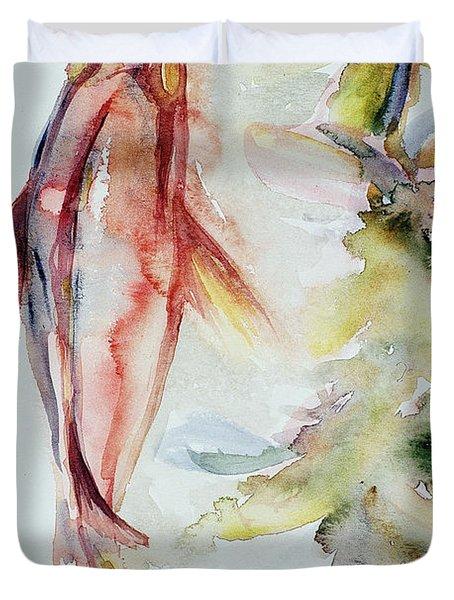 Red Mangrove Duvet Cover