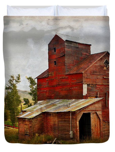 Red Mill Montana Duvet Cover by Marty Koch