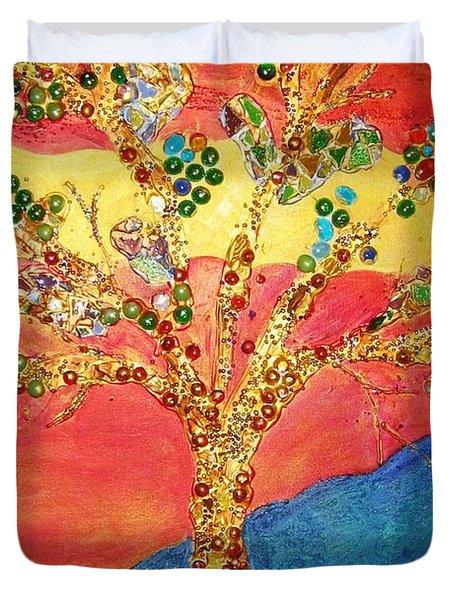 Red Oak Duvet Cover