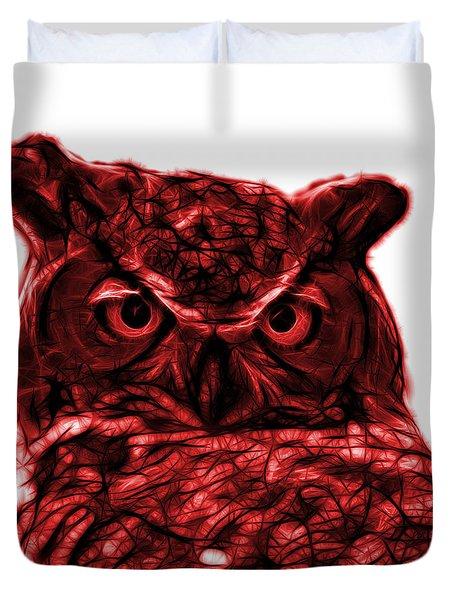 Red Owl 4436 - F S M Duvet Cover
