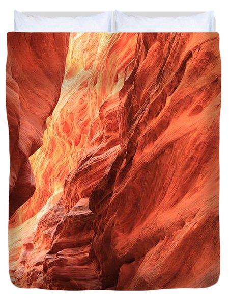 Red Rock Bend Duvet Cover