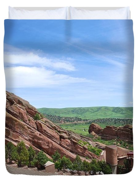 Red Rocks Duvet Cover by Charlie and Norma Brock
