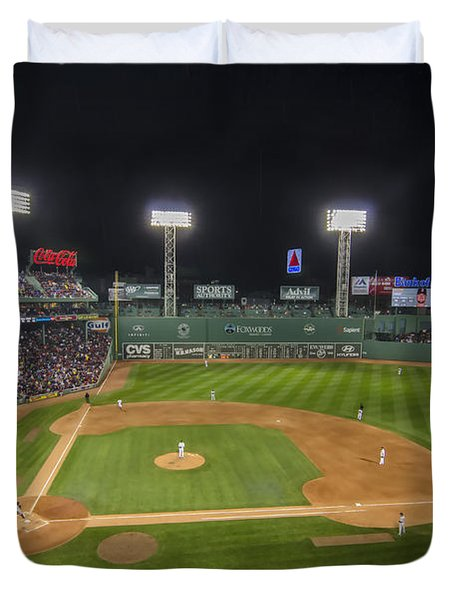 Red Sox Vs Yankees Fenway Park Duvet Cover
