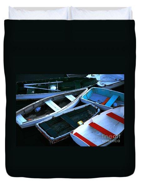 Red Stripe Duvet Cover