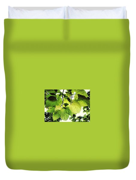 Catalpa Branch Duvet Cover