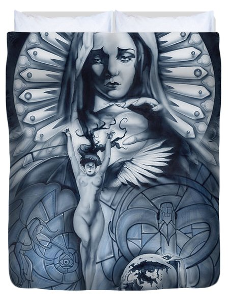 Redemption Duvet Cover by Luis  Navarro