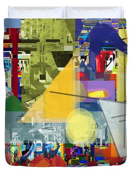 Redemption Prayer 1g Duvet Cover by David Baruch Wolk