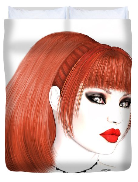 Redhead Cassia Duvet Cover by Renate Janssen