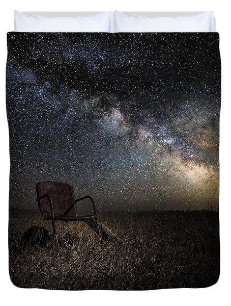 Redneck Planetarium Duvet Cover