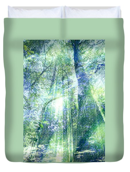 Redwood Dreams Duvet Cover by Nicole Swanger