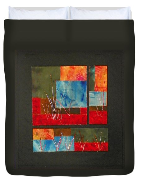Reeds Duvet Cover by Jenny Williams