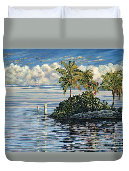 Reef Channel Duvet Cover by Danielle  Perry