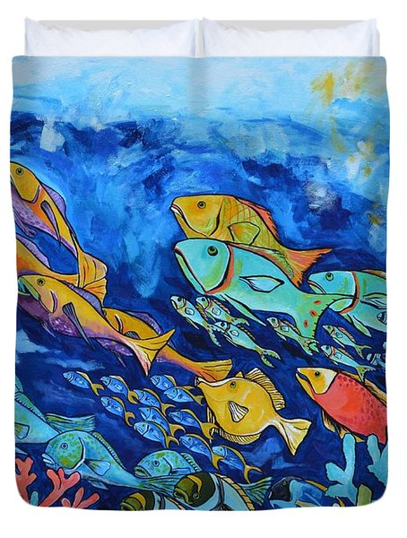 Reef Fish Duvet Cover