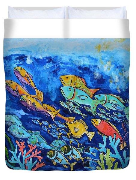 Reef Fish Duvet Cover