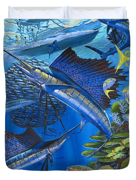 Reef Frenzy Off00141 Duvet Cover
