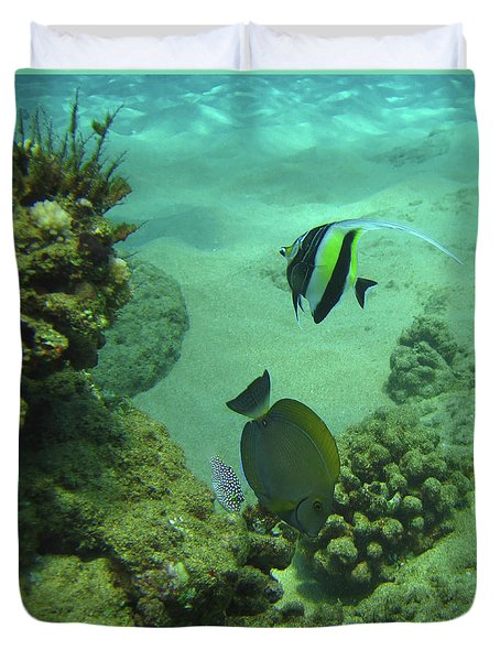 Reef Life Duvet Cover
