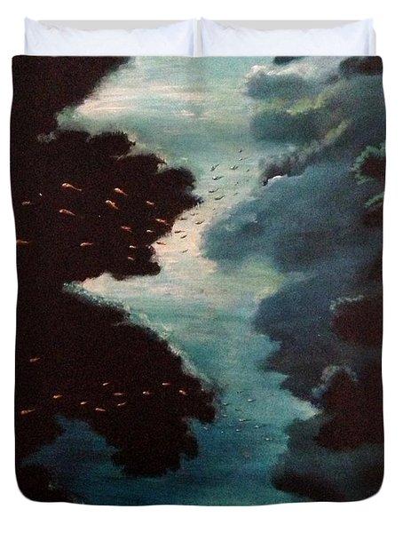 Reef Pohnpei Duvet Cover