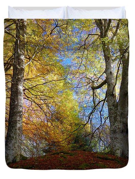 Reelig Forest  Duvet Cover