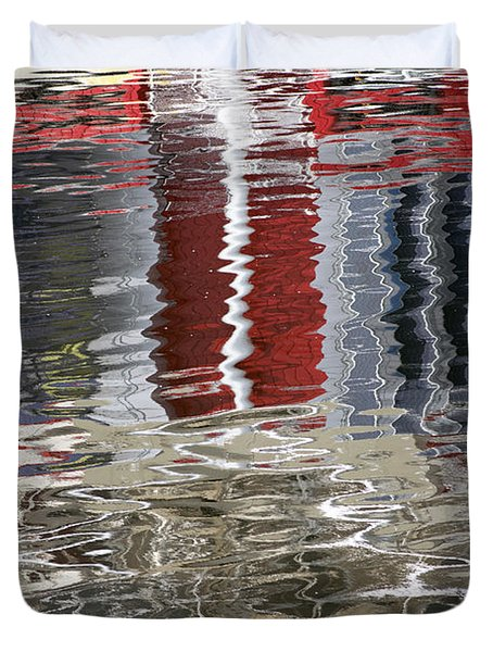 Reflecion 3 Duvet Cover by Michele Wright