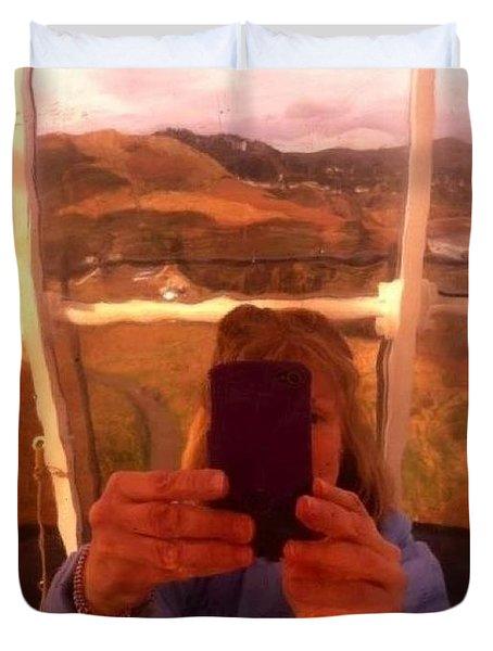 Reflect Back  Duvet Cover by Susan Garren