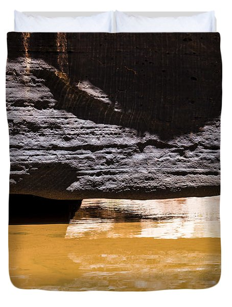 Reflected Formations Duvet Cover