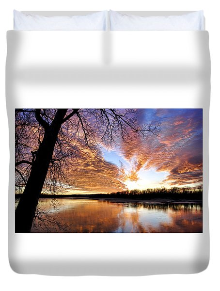 Reflected Glory Duvet Cover