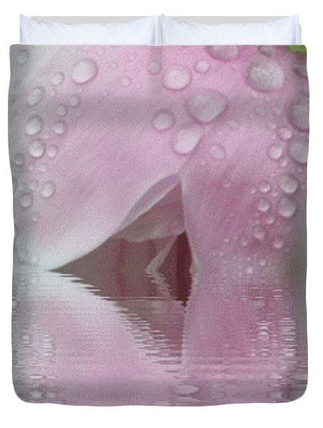 Reflected Tears Duvet Cover