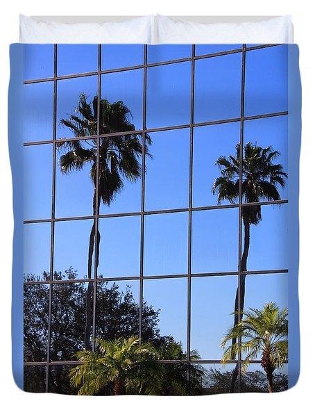 Reflected Window Duvet Cover by Rosalie Scanlon