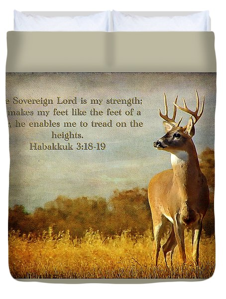 Reflecting His Glory Duvet Cover