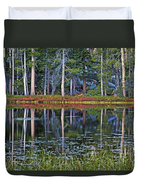 Reflecting Nature Duvet Cover by Duncan Selby