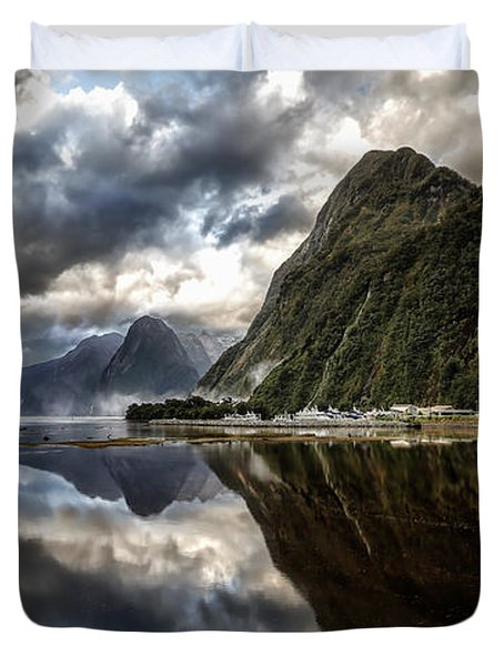Reflecting On Milford Duvet Cover