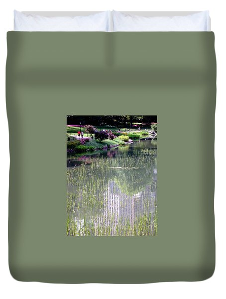 Reflection And Movement Duvet Cover