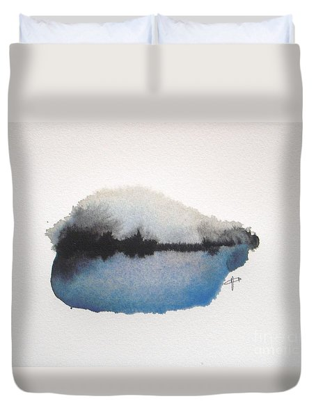 Reflection In The Lake Duvet Cover