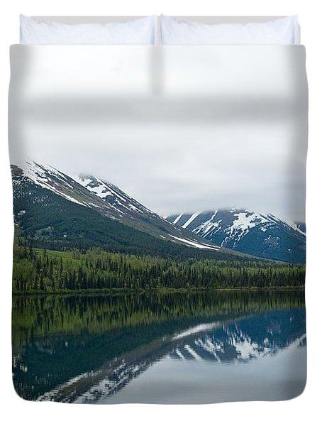 Reflection Montana  Duvet Cover