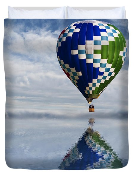 Reflection Duvet Cover by Juli Scalzi
