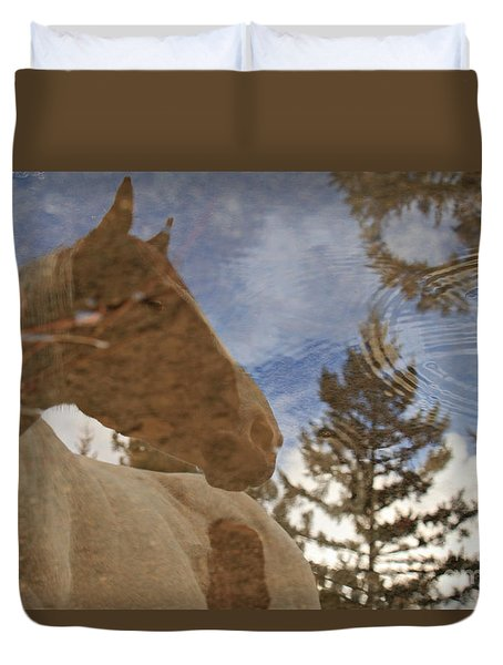 Upon Reflection Duvet Cover