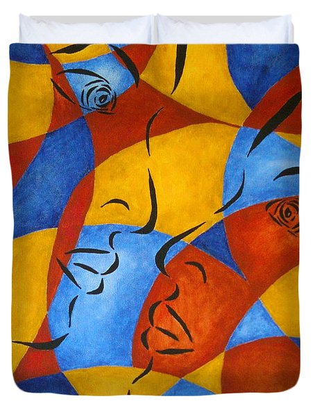 Reflection Duvet Cover by Pamela Allegretto