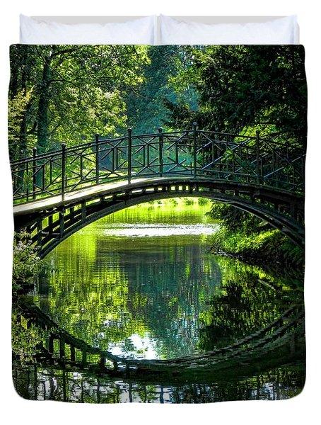 Reflection Paradise Duvet Cover by Mariola Bitner