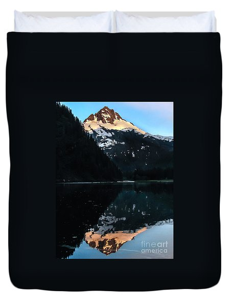 Reflection Duvet Cover by Robert Bales