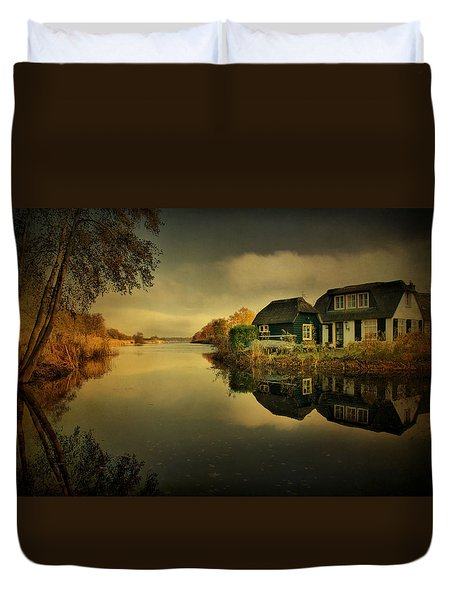 Reflections Duvet Cover by Annie Snel