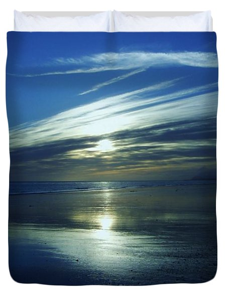 Duvet Cover featuring the photograph Reflections by Barbara St Jean