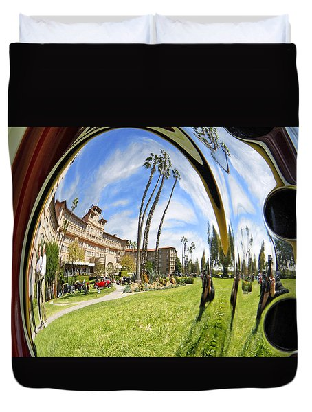 Reflections Of A 1937 Cord Duvet Cover