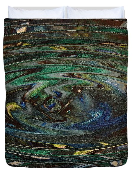 Reflections Of Christmas #3 Duvet Cover by Wayne Cantrell