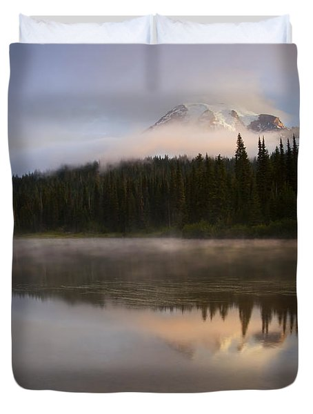 Reflections Of Majesty Duvet Cover